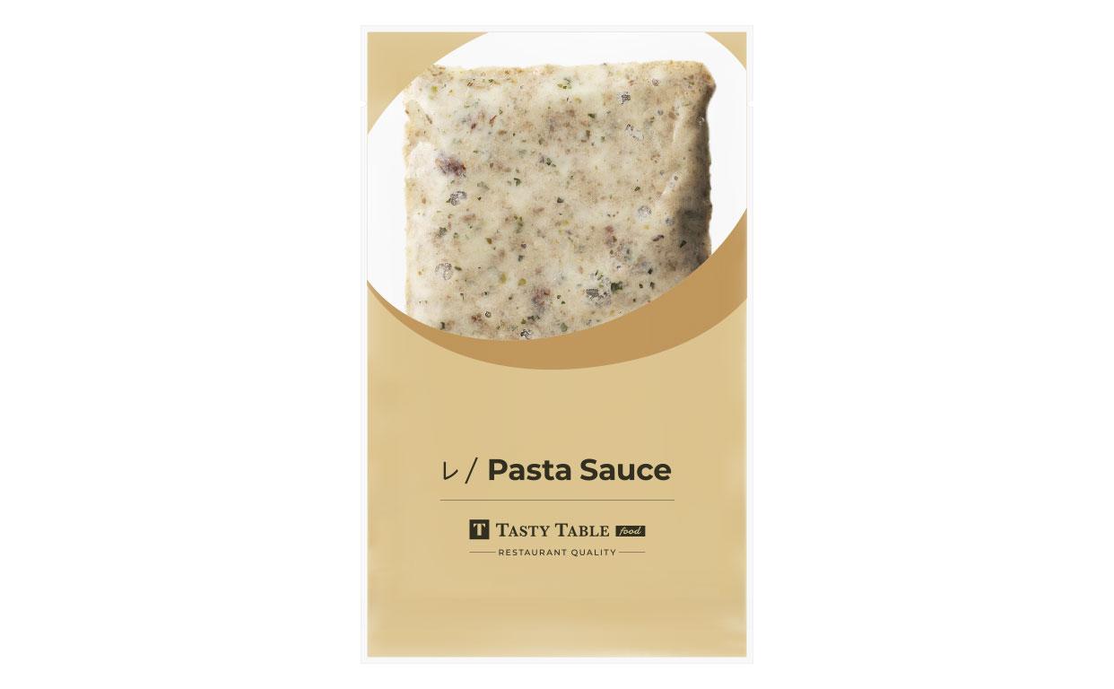 自家製サルシッチャのクリームソース